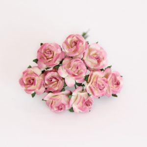 CMR2-4-506 papierowe kwiaty Scrap Flowers