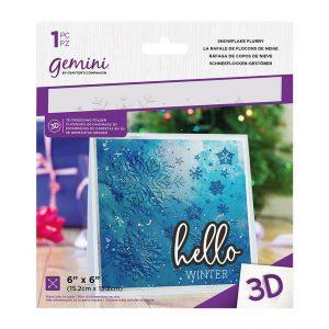 GEM-EF6-3D-SF folder do embossingu Crafters Companion