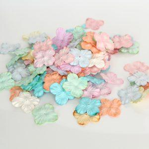 HYDRS-9010 papierowe kwiaty Scrap Flowers