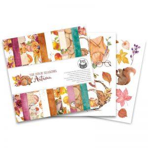 P13-AUT-09 zestaw papierów The Four Seasons, Autumn P13