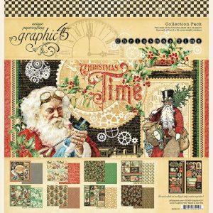 4502119 zestaw papierów Christmas Time Graphic45