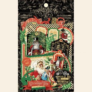 4502124 zestaw die cuts Christmas Time Graphic45