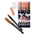 POXBRMAN6 Coloring brush pen Sakura Koi Manga zestaw