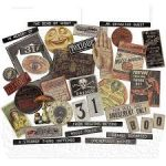 TH94060 Tim Holtz Halloween baseboards