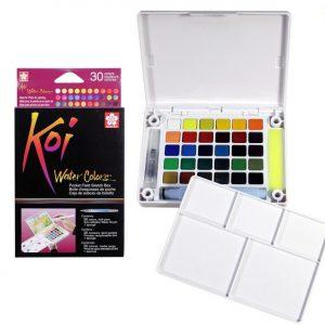 XNCW-30N Sakura Koi Water Color 30 kolorów