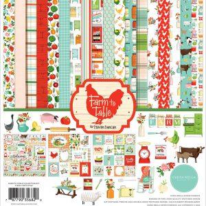 CBFT127016 zestaw papierów Farm to Table Carta Bella