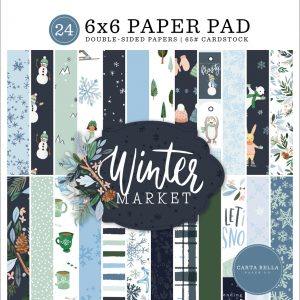 CBWM126023 zestaw papierów Carta Bella Winter Market
