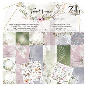 FD-KOL-2 zestaw papierów Zoju Design