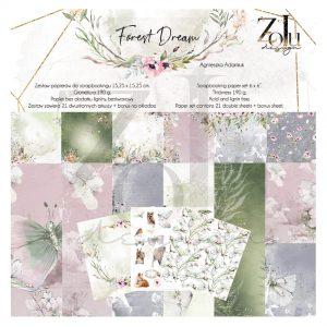 FD-KOL2-M zestaw papierów Zoju Design