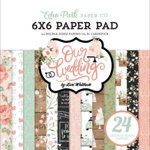 OW224023 zestaw papieru Our Wedding Echo Park