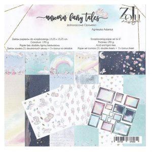 UF-KOLM-01 zestaw papierów Zoju Design