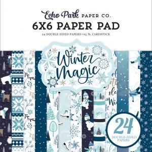 WIM223023 zestaw papierów Winter Magic Echo Park