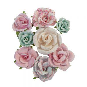 651039 kwiatki papierowe Prima