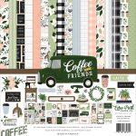CF230016 zestaw papierów Coffe and Frends Echo Park