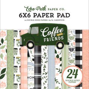 CF230023 zestaw papierów Coffe and Frends Echo Park