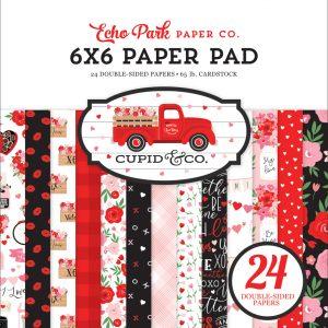 CUP227023 zestaw papierów Cupid & Co Echo Park