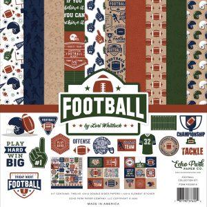FO228016 zestaw papierów Football Echo Park