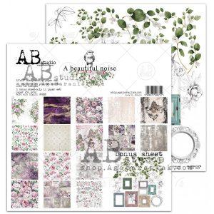A_BEAU_NOIS_ZESTAW zestaw papierów AbStudio