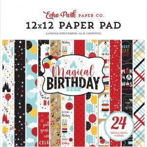 MBB232030 zestaw papierów Magical Birthday Boy Echo Park