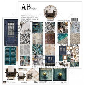 OLD_DREA_ZESTAW zestaw papierów AbStudio