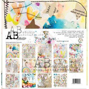 PIXI_DUST_ZESTAW zestaw papierów Ab Studio
