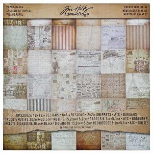 TH93052 zestaw papierów Tim Holtz