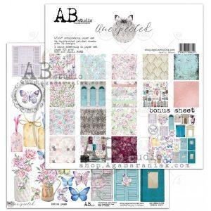 UNEX_ZESTAW zestaw papierów Ab Studio