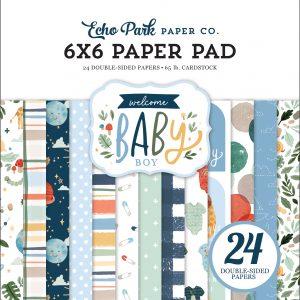 WBB234023 zestaw papierów Echo Park