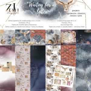 WL-KOL6-M zestaw papierów Zoju Design