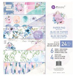 651428 papiery Prima Marketing Watercolor Floral