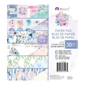 651435 papiery Prima Marketing Watercolor Floral