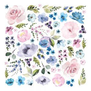 651534 die cuts Prima Marketing Watercolor Floral