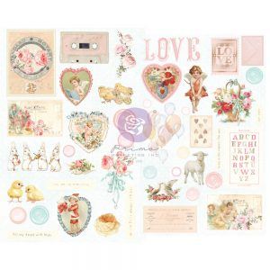 996727 chipboard stickers Prima Marketing Magic Love