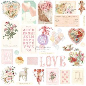 996758 ephemera Prima Marketing Magic Love