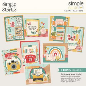 14431 zestaw do stworzenia 8 kartek Simple Stories