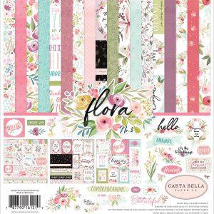 CBF117016 zestaw papierów Carta Bella