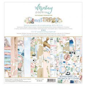 MT-NEX-07 zestaw papierów Mintay Papers