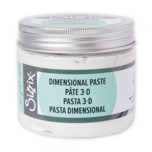 664573 pasta Dimensional Paste Sizzix Effectz