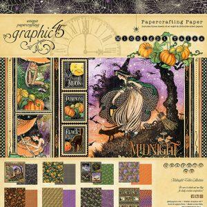 4502282 zestaw papierów Midnight Tales Graphic45