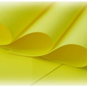 FOAM-06 foamiran żółty
