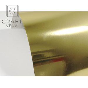 LUSTR-ZŁOT-300G karton papier lustrzany A4