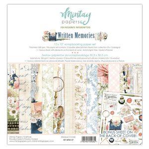 MT-MEM-07 zestaw papierów Mintay Papers