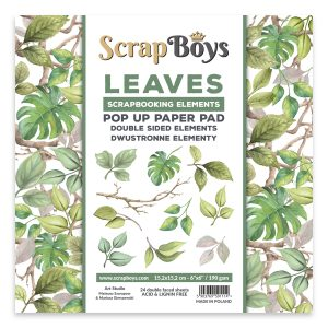 POPLE-01 zestaw papierów Scrap Boys