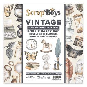 POPVI-01 zestaw papierów Scrap Boys